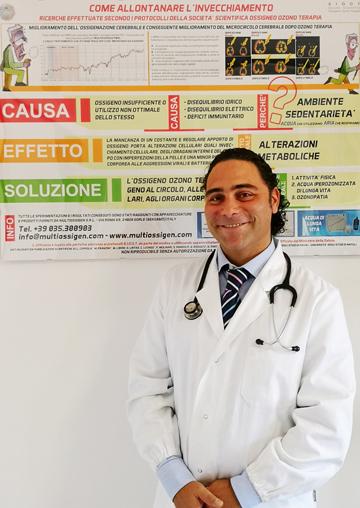 Dottor Cristiano Guzzardi Ierna - Ozonoterapia Roma